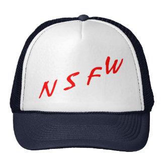 NSFW (nicht passend für Arbeit) Retro Cap