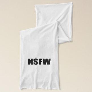 NSFW nicht sicher für Arbeit Schal