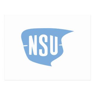 NSU Logo Postkarte