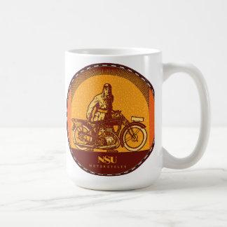 NSU Motorradzeichen Kaffeetasse