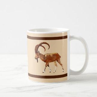 Nubian Steinbock - Ein Gedi Kaffeetasse