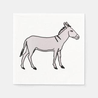 Nubian wilder Esel Papierserviette