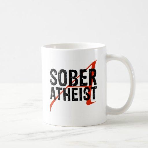Nüchterner Atheist Tee Tassen