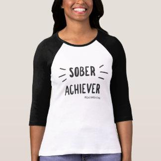 Nüchterner Durchführer-Baseball T-Shirt