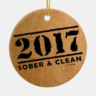 Nüchternes u. sauberes 2017 keramik ornament