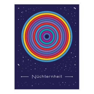 Nüchternheit Postkarte