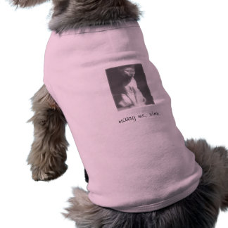 NudeWare - der Antrag Ärmelfreies Hunde-Shirt