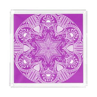 Nudibranch Mandala Acryl Tablett