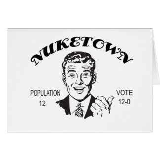 Nuketown Bevölkerungs-Abstimmung Karte