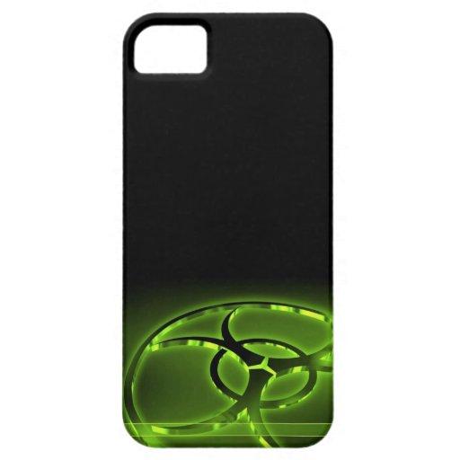 Nukleare Biogefährdung abstrakter Iphone 4 Fall iPhone 5 Etuis