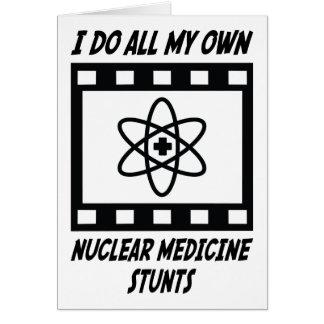 Nukleare Medizin-Bremsungen Karte