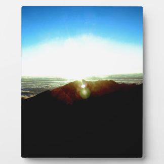 Nuklearer Sonnenaufgang Fotoplatte