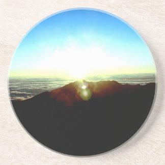 Nuklearer Sonnenaufgang Getränkeuntersetzer