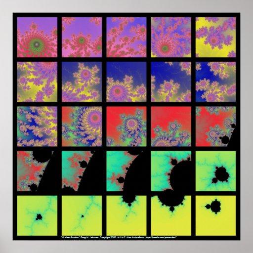 Nuklearer Sonnenaufgang Plakatdruck