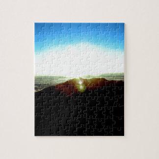 Nuklearer Sonnenaufgang Puzzle