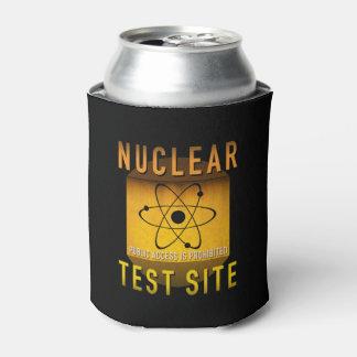Nuklearer Test-Standort-Retro AtomalterGrunge: Dosenkühler