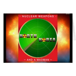 Nukleares Nordkorea Karte