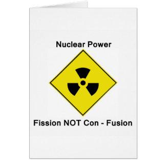 Nukleares Power-Antilogo Karte
