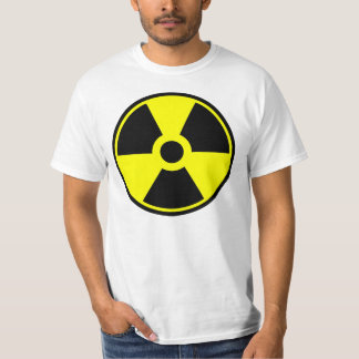 Nukleares Strahlungs-Symbol-radioaktives Symbol T-Shirt
