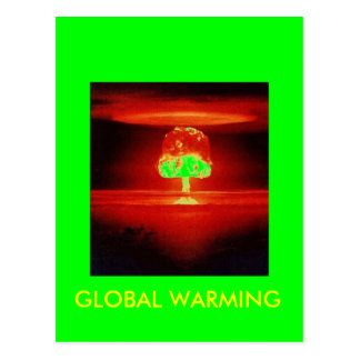 Nuklearexplosion Postkarte