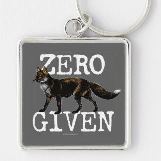 Null (Fox) gegeben Schlüsselanhänger