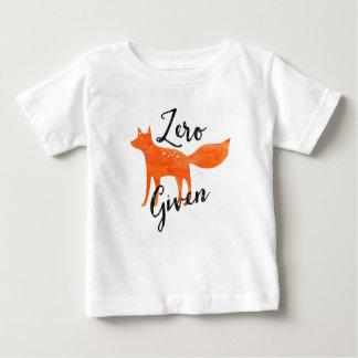 NullFox gegeben Baby T-shirt