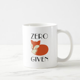 NullFox gegeben Kaffeetasse