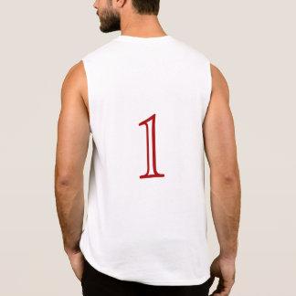"""Numeriertes """"1"""" unterstützen an - T - Shirt"""