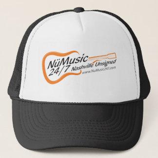NuMusic247.com-Waren Truckerkappe
