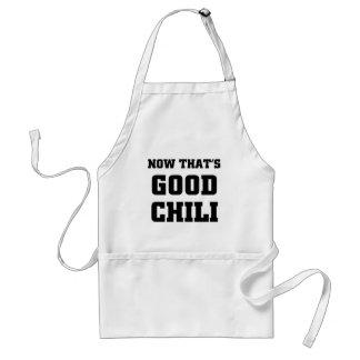 Nun da guter Chili ist Schürze
