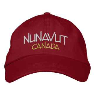 Nunavut Kanada Gewohnheit gestickter Hut Bestickte Baseballkappen