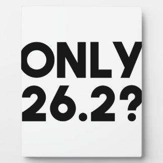 Nur 26,2 fotoplatte