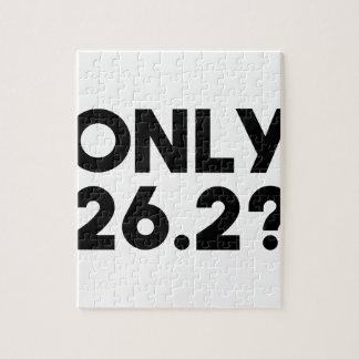 Nur 26,2 puzzle