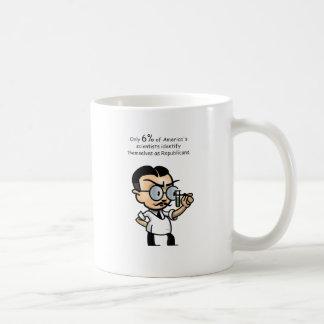Nur 6% von Amerikas Wissenschaftlern Kaffeetasse