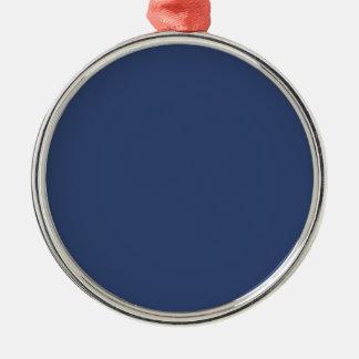 Nur blaue elegante Stahlverzierungen OSCB36 Silbernes Ornament