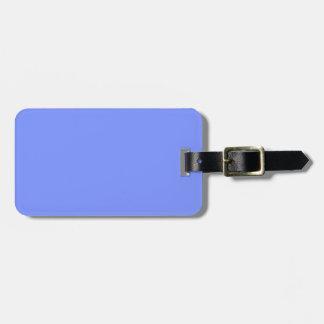 Nur blauer eleganter Normallack OSCB32 des Gepäckanhänger