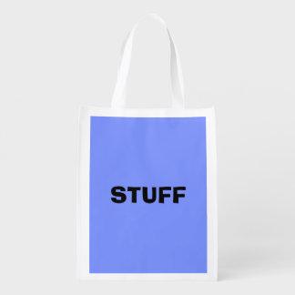 Nur blauer eleganter Normallack OSCB32 des Wiederverwendbare Einkaufstasche