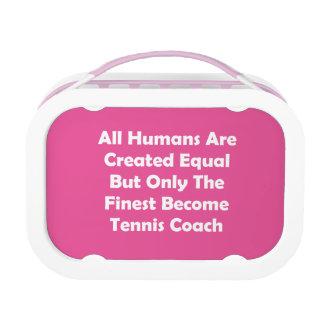 Nur der feinste gewordene Tennis-Trainer Brotdose