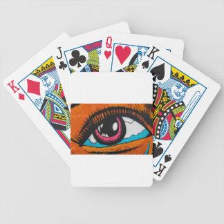 Nur die Augen können sagen Bicycle Spielkarten