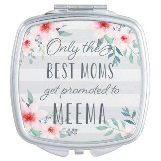 Nur die besten Mammen erhalten zu Meema gefördert Schminkspiegel