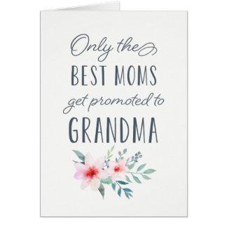 Nur die besten Mammen erhalten zur Großmutter Karte