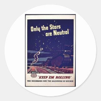 Nur die Sterne sind neutral Sticker