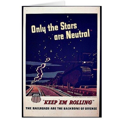 Nur die Sterne sind neutral Grußkarten