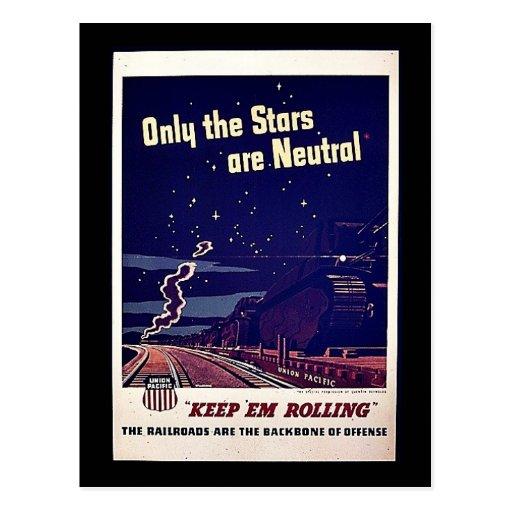 Nur die Sterne sind neutral Postkarten