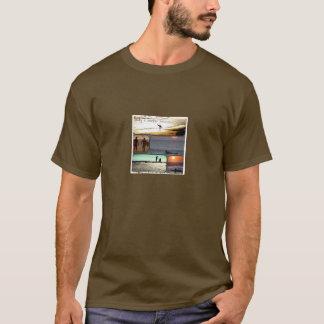 Nur ein Surfer weiß T-Shirt