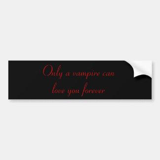 Nur ein Vampire… Autoaufkleber