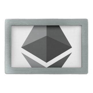 Nur Ethereum Logo Rechteckige Gürtelschnallen
