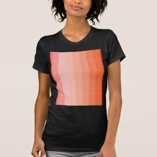 Nur Farborange Ombre T-Shirts