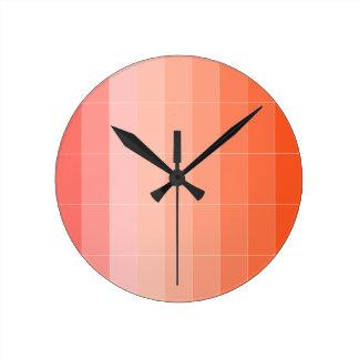 Nur Farborange Ombre Uhr