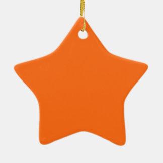 Nur glänzender orange einfacher Normallack OSCB25 Keramik Ornament